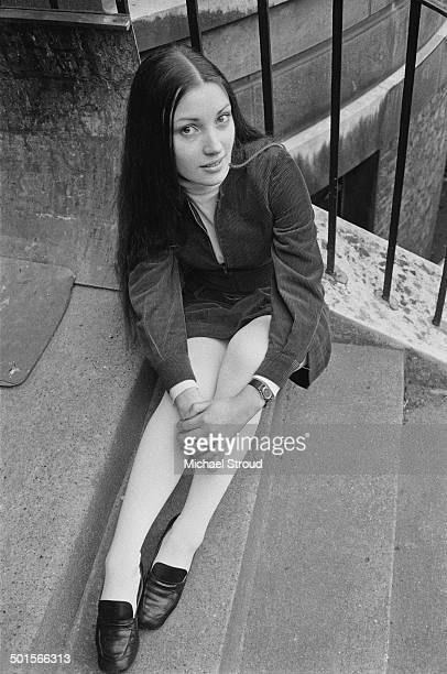 English actress Jane Seymour 30th April 1969 This picture was taken when Seymour was a drama student and still using her birth name Joyce Frankenberg