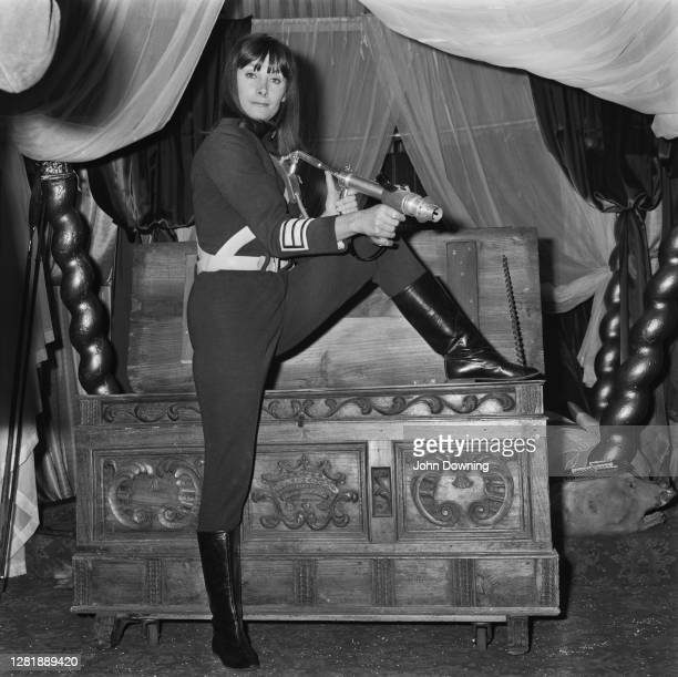 English actress Jean Marsh joins the cast of television science fiction series 'Doctor Who' as companion Sara Kingdom, UK, 3rd December 1965.