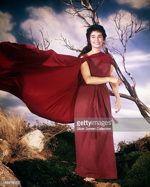 English actress Jean Simmons as Varinia in 'Spartacus' directed by Stanley Kubrick 1960