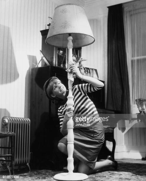 English actress Jennie Linden doing the housework at home UK May 1963 She has been chosen to star in the horror film 'Nightmare' written and produced...