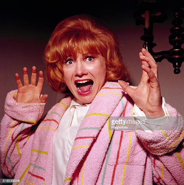 English actress Jennie Linden pictured in a scene from the Hammer Studios horror film 'Nightmare' in 1964