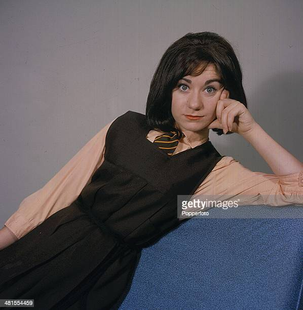 1968 English actress Jennifer Moss in character as Lucille Hewitt from the long running television soap opera 'Coronation Street' in 1968
