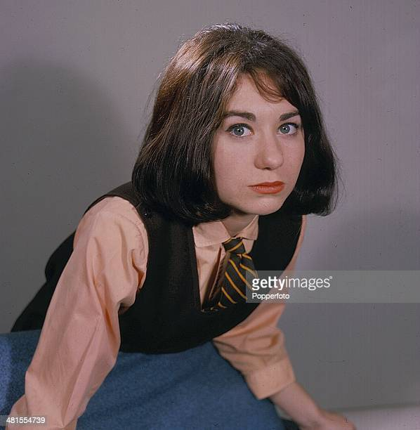 1968 English actress Jennifer Moss in character as Lucille Hewitt from the long running television soap opera 'Coronation Street' in1968