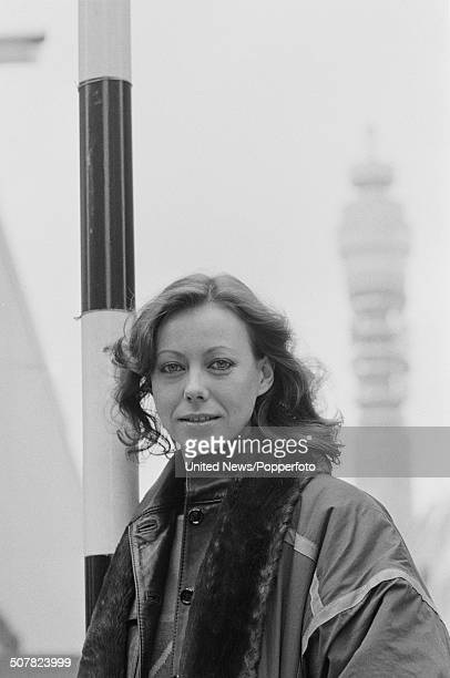 English actress Jenny Agutter in London on 25th March 1981