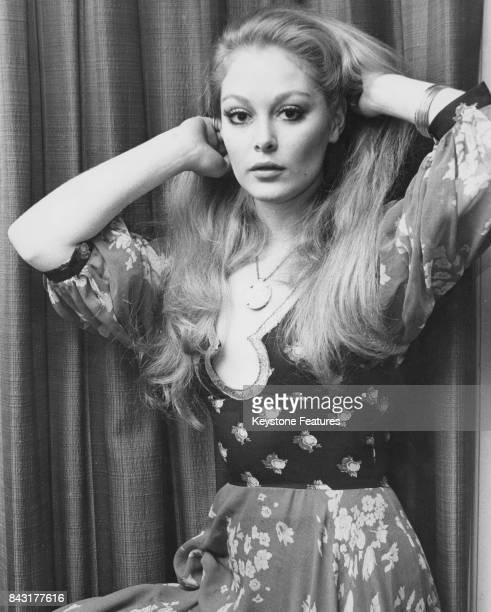 English actress Jenny Hanley the daughter of actors Dinah Sheridan and Jimmy Hanley February 1972