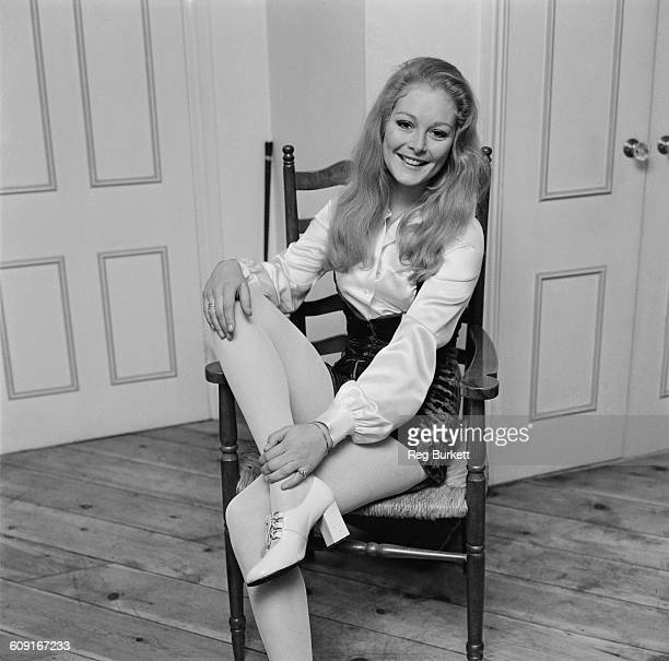 English actress Jenny Hanley UK 9th April 1971