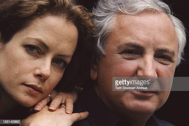 English actress Jenny Seagrove and English film director Michael Winner circa 1990