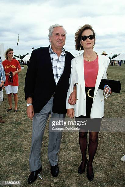 English actress Jenny Seagrove and her fiance film director Michael Winner in 1990 ca in London England