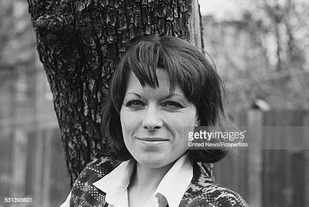 English actress Jill Gascoine pictured in London on 14th April 1977