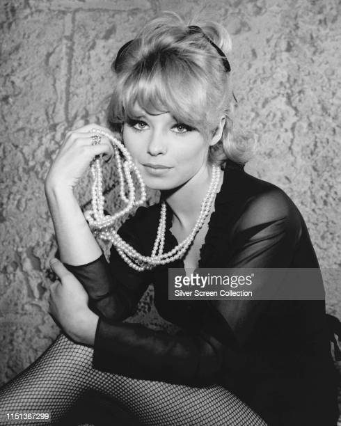 English actress Jill Haworth as Timothea Farley in a guest appearance on television series 'The Rogues' 1965