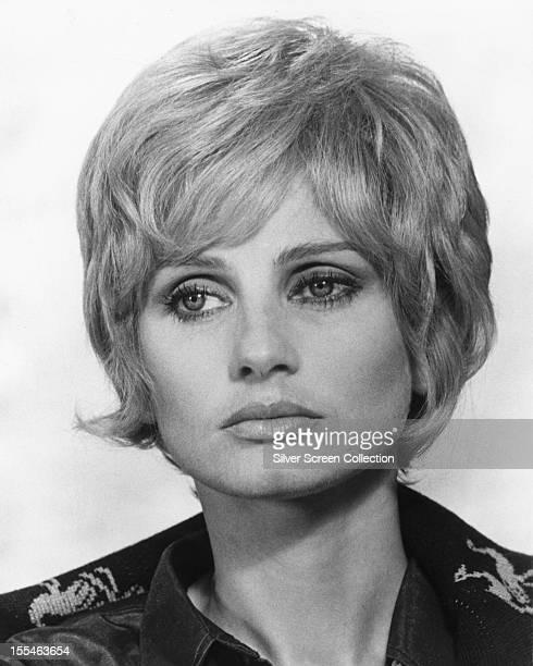 English actress Jill Ireland circa 1975