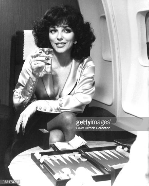 English actress Joan Collins as Fontaine Khaled in 'The Bitch' directed by Gerry O'Hara 1979