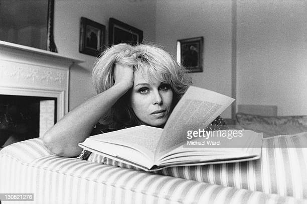 English actress Joanna Lumley 16th January 1986