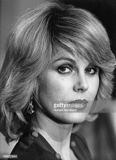 English actress Joanna Lumley as she appears in the British television sciencefiction series 'Sapphire Steel' circa 1980