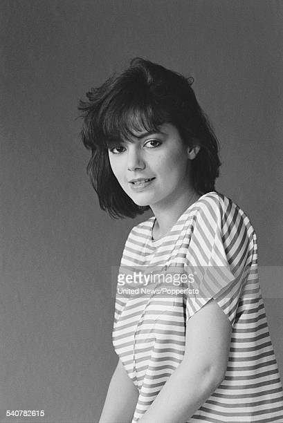English actress Joanne Whalley who plays the character of Ingrid Rothwell in the television series 'A Kind of Loving' pictured in London on 7th April...