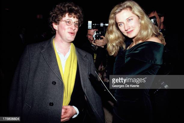 English actress Joely Richardson Vanessa Redgrave's daughter attends the 'Gorillas in the Mist' premiere on January 24 1989 in London England