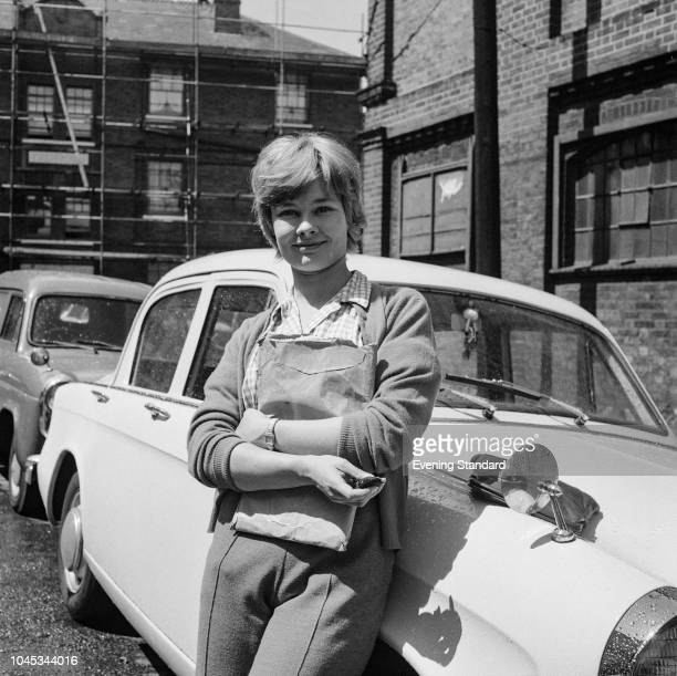 English actress Judi Dench 18th July 1960 She is holding a script of 'Henry The Fifth' which is being broadcast as part of 'An Age Of Kings' a serial...