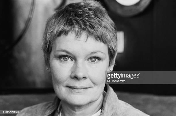 English actress Judi Dench UK 18th October 1983
