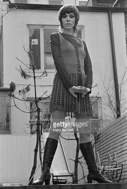 English actress Judy Carne UK 15th March 1970