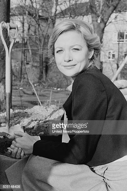 English actress Judy Geeson pictured in character as Susan on the set of the television drama series Danger UXB in London on 1st December 1978