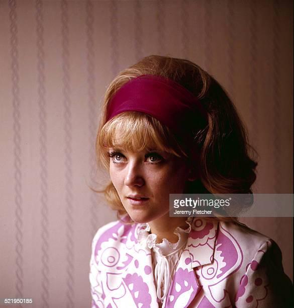 English actress Julia Foster at home London 1966