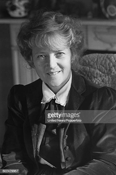 English actress Julia Foster in London on 24th October 1985.