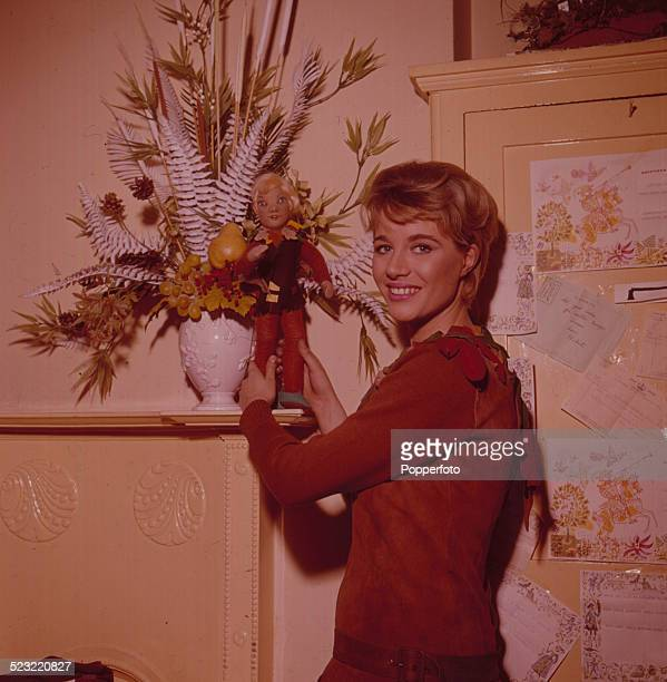English actress Julia Lockwood posed in 1964