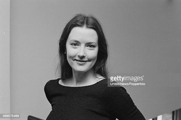 English actress Julia Tobin from the television series 'Auf Wiedersehen Pet' in London on 11th February 1986