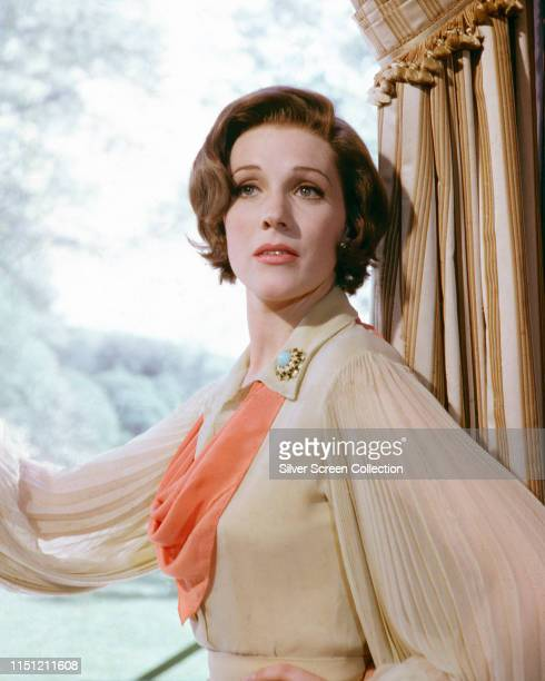 English actress Julie Andrews in a promotional portrait for the film 'Star!', 1968. Andrews plays Gertrude Lawrence in the film.