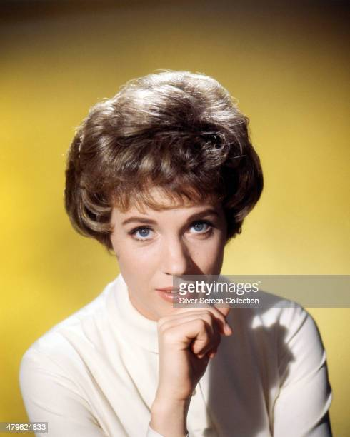 English actress Julie Andrews in a promotional portrait for 'Torn Curtain' directed by Alfred Hitchcock 1966