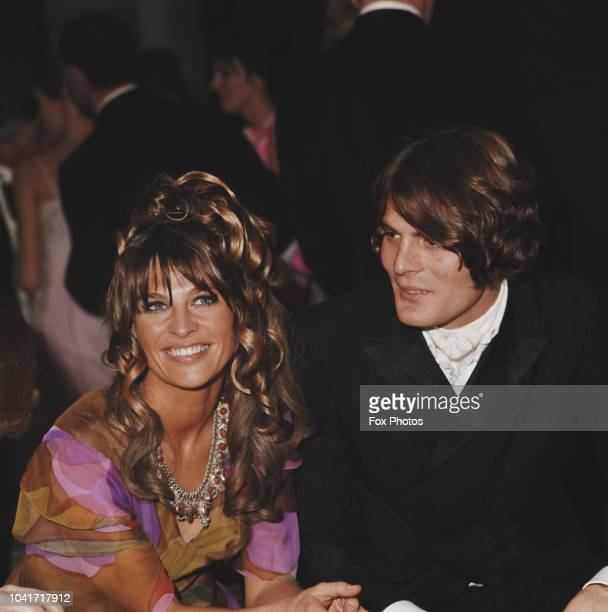 English actress Julie Christie and her partner Don Bessant attend the premiere of the film 'Far from the Madding Crowd' at the Odeon Leicester Square...