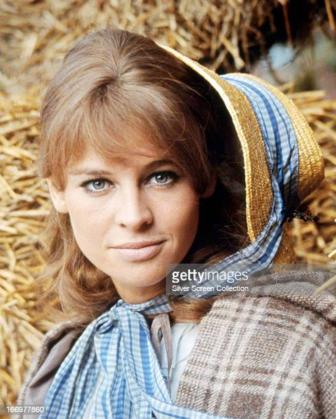 English actress Julie Christie as Bathsheba in a promotional portrait for 'Far from the Madding Crowd' directed by John Schlesinger 1967