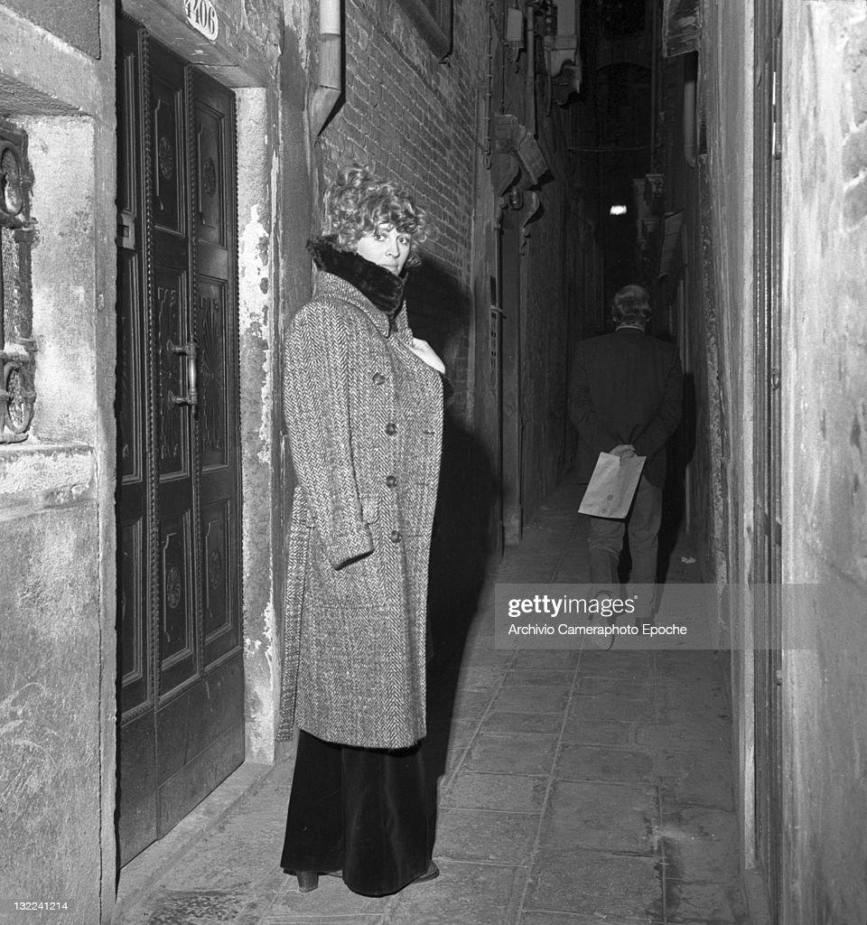 Julie Christie By Night : News Photo