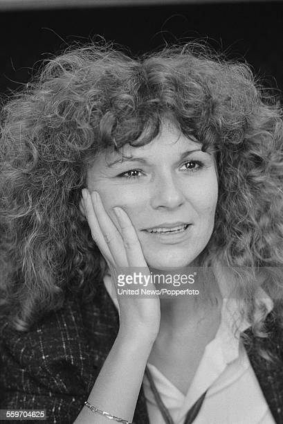 English actress Julie Walters who plays the character of Susan White in the film 'Educating Rita' pictured in London on 17th February 1984