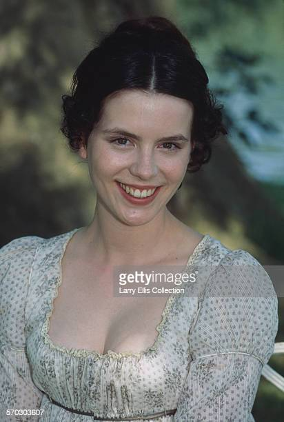 English actress Kate Beckinsale during production of the TV film adaptation of Jane Austen's 'Emma' circa 1996