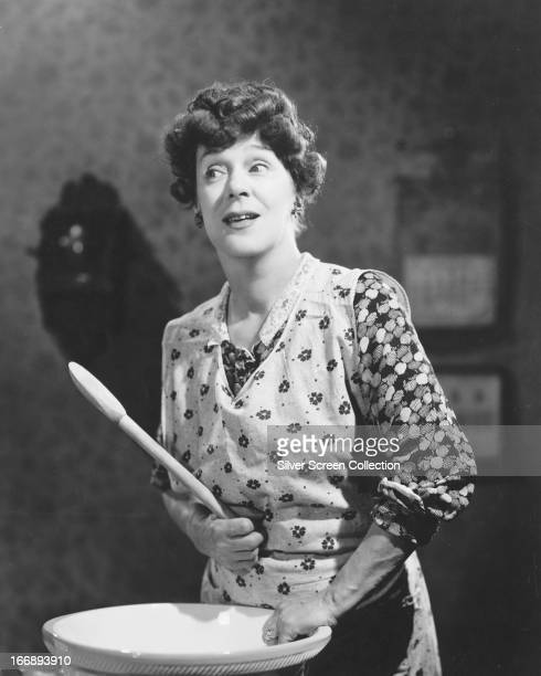 English actress Kathleen Harrison as Mrs Catt in 'Code of Scotland Yard' aka 'The Shop at Sly Corner' directed by George King 1947