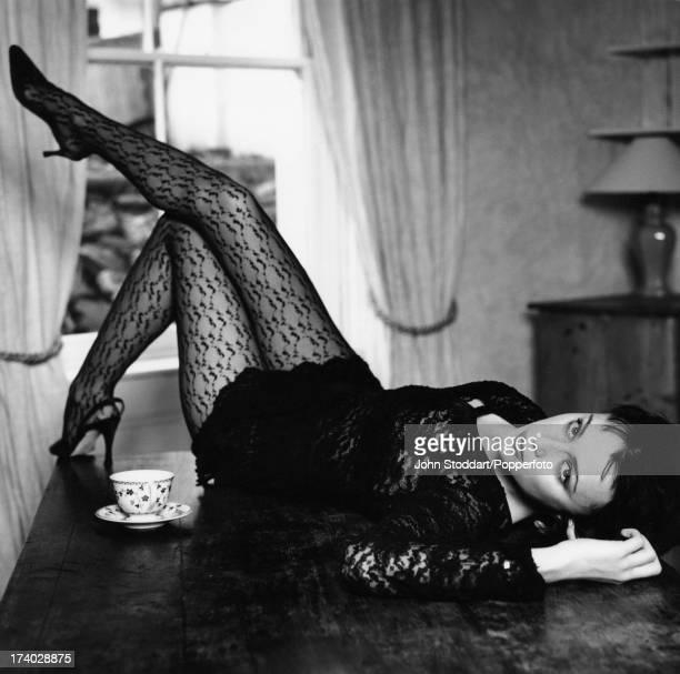 English actress Keeley Hawes circa 1995
