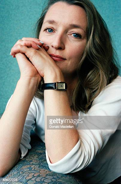English actress Lesley Manville, London, 22nd March 1996.