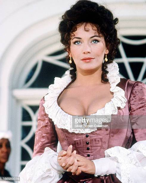 English actress LesleyAnne Down as Madeline Fabray LaMotte Main in the TV miniseries 'North And South' 1985