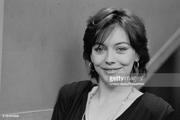 English actress Lesley-Anne Down in London on 4th March 1981.