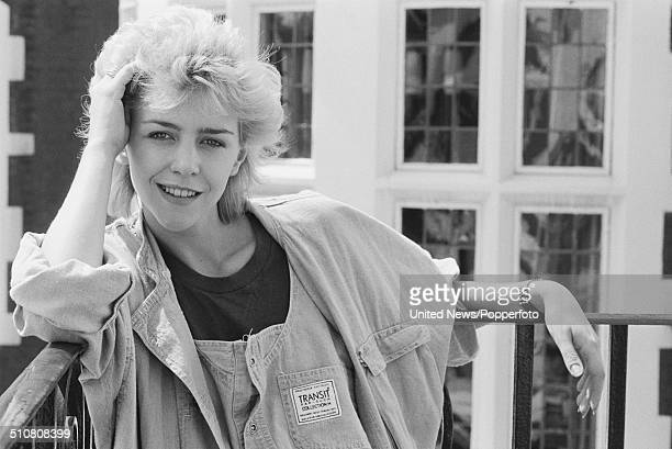 English actress Leslie Ash in London on 3rd August 1983