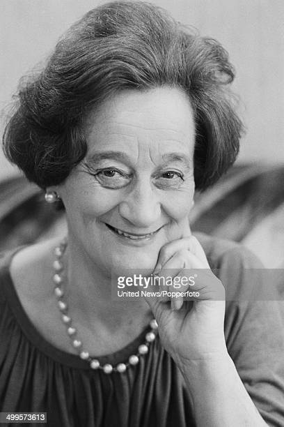 English actress Liz Smith posed in London on 2nd November 1984