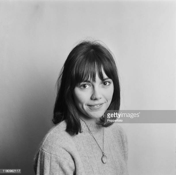 English actress Lucy Fleming posed at home in December 1966
