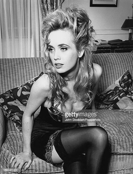 English actress Lysette Anthony 1992