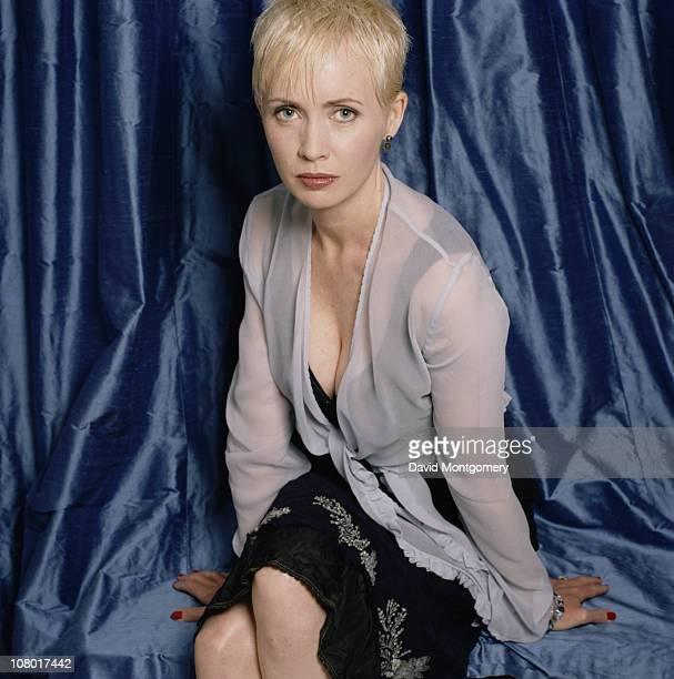English actress Lysette Anthony circa 2000