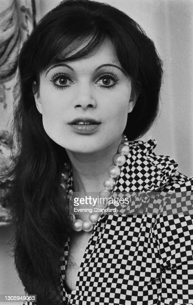 English actress Madeline Smith, UK, 29th May 1973. She played Miss Caruso in the James Bond film 'Live and Let Die' that year.
