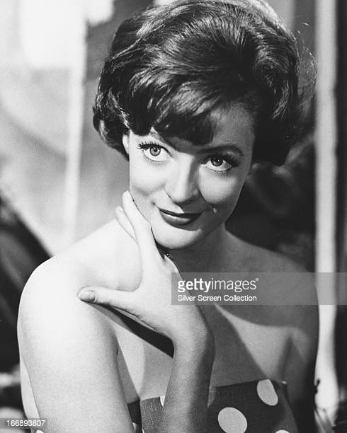 English actress Maggie Smith circa 1963