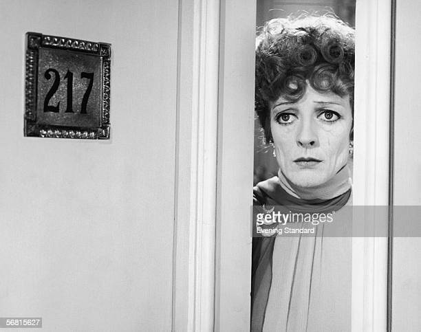 English actress Maggie Smith plays the eccentric Aunt Augusta in the MGM film 'Travels With My Aunt' directed by George Cukor and adapted from the...