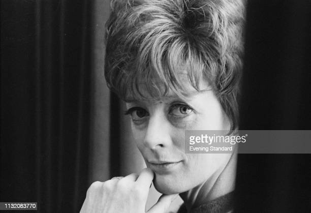 English actress Maggie Smith UK 21st February 1969