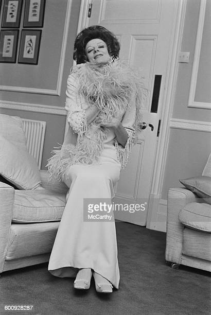 English actress Maggie Smith UK 8th March 1970
